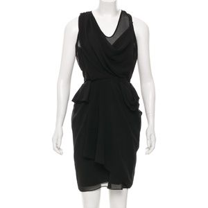 Diane von Furstenberg DVF Isabel Draped Dress
